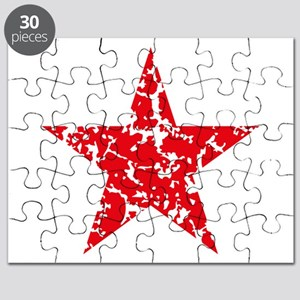 Red Star Vintage Puzzle