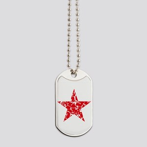 Red Star Vintage Dog Tags