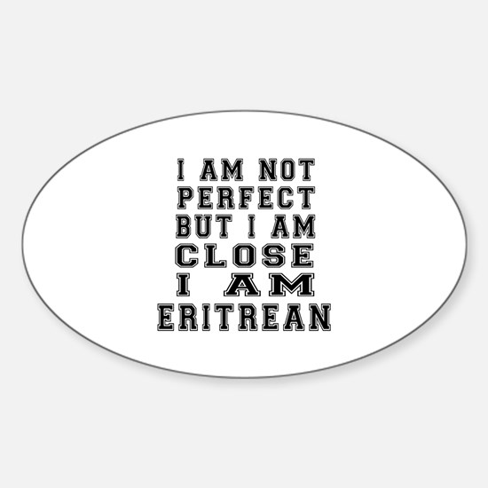 Eritrean Designs Sticker (Oval)