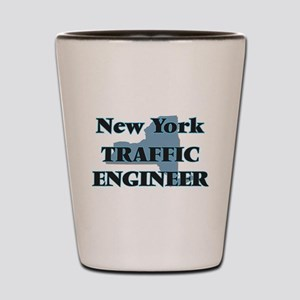 New York Traffic Engineer Shot Glass