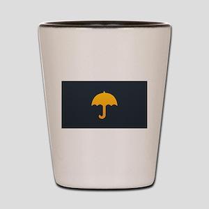 Cute Yellow Umbrella Shot Glass