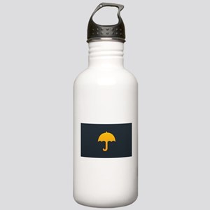 Cute Yellow Umbrella Stainless Water Bottle 1.0L