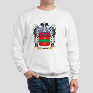 Parisi Coat of Arms - Family Crest Sweatshirt