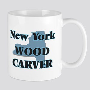 New York Wood Carver Mugs