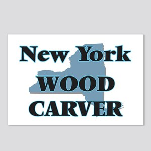 New York Wood Carver Postcards (Package of 8)
