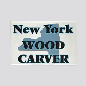 New York Wood Carver Magnets