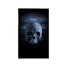 Gothic Skull Area Rug