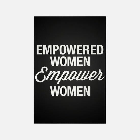 Empowered Women Empower Women Rectangle Magnet