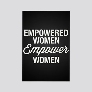 Empowered Women Empower Rectangle Magnet (10 pack)