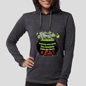 Lovin Coven Womens Hooded Shirt