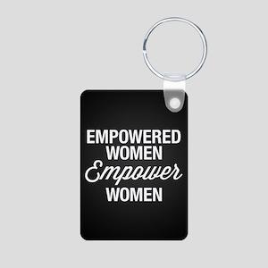 Empowered Women Empower Wo Aluminum Photo Keychain
