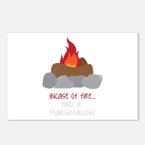 Incase Of Fire Postcards (Package of 8)