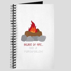 Incase Of Fire Journal