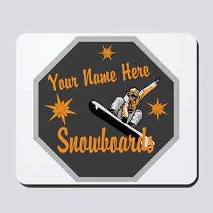 Snowboard Shop Mousepad