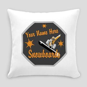 Snowboard Shop Everyday Pillow