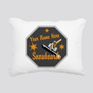 Snowboard Shop Rectangular Canvas Pillow
