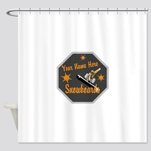 Snowboard Shop Shower Curtain