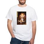 The Queen's Corgi White T-Shirt