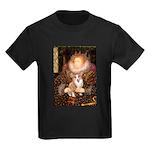 The Queen's Corgi Kids Dark T-Shirt