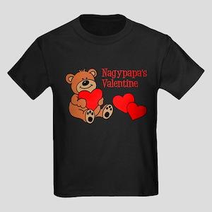 Nagypapa's Valentine Cartoon Bear T-Shirt