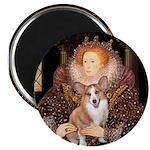 The Queen's Corgi Magnet