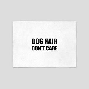 Dog Hair Don't Care 5'x7'Area Rug