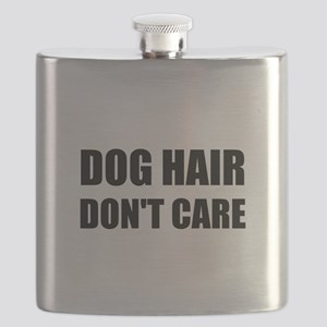 Dog Hair Don't Care Flask