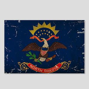 North Dakota State Flag VINTAGE Postcards (Package