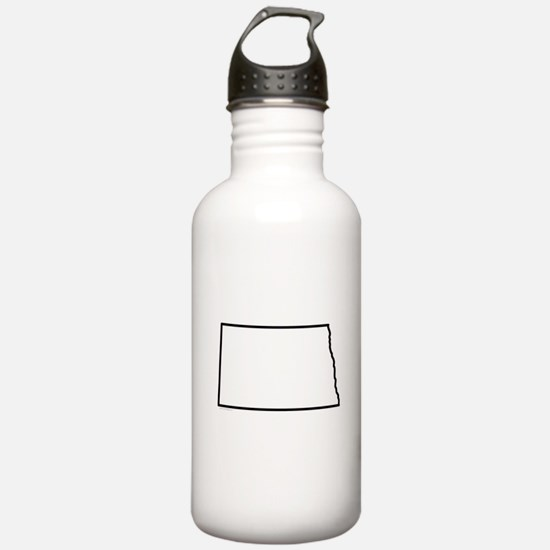 North Dakota State Out Water Bottle