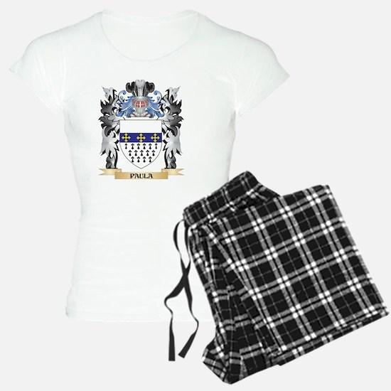 Paula Coat of Arms - Family Pajamas