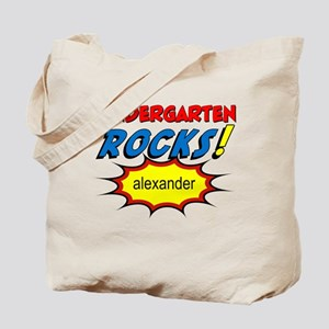 Kindergarten Rocks Custom Tote Bag