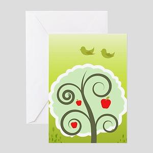Summer season illustration Greeting Cards