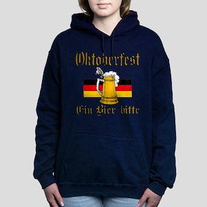 ein beer Women's Hooded Sweatshirt