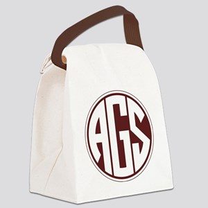 AGS - SEC - Maroon Canvas Lunch Bag