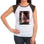 ACCOLADE / Corgi Women's Cap Sleeve T-Shirt