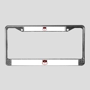 Knights Templars Kt Shield License Plate Frame
