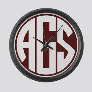 AGS - SEC - Maroon Large Wall Clock