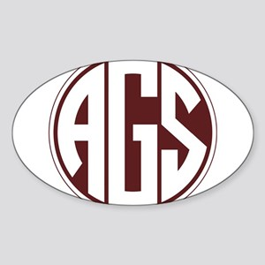 AGS - SEC - Maroon Sticker