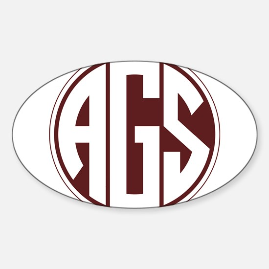 AGS - SEC - Maroon Decal