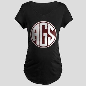 AGS - SEC - Maroon Maternity T-Shirt