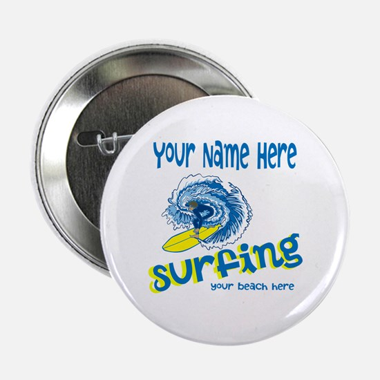 """Surfing 2.25"""" Button"""