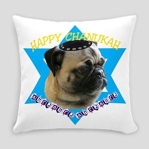 chanukahpug Everyday Pillow