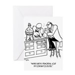 Primordial Soup Cartoon 9477 Greeting Card