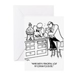 Primordial Soup Cartoon Greeting Cards (Pk of 10)