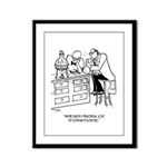 Primordial Soup Cartoon 9477 Framed Panel Print