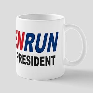 Run Ben Run Carson President 2016 Mug