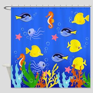 Splash Time Shower Curtain