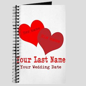 Wedding Hearts Journal