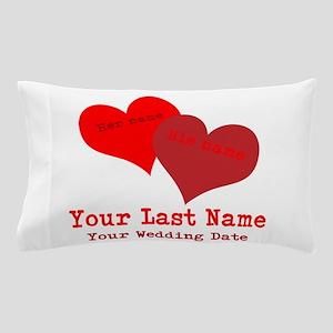 Wedding Hearts Pillow Case