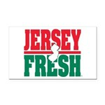 Jersey Fresh Rectangle Car Magnet